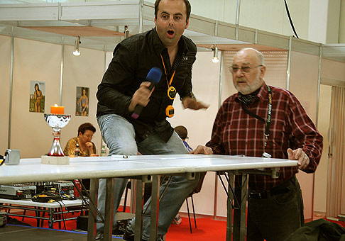 Aj Leopold Haverl sa zúčastnil jarnej časti Rekordfestu. 31.3.2007.