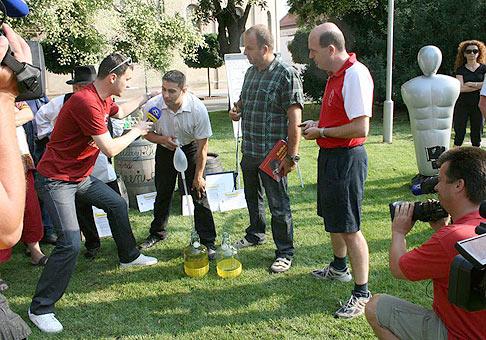 Séria prekonávania rekordov s Markízáckym teleránom. Tentokrát z Pezinka. 15.7.2009.