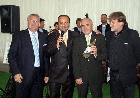 Zľava doprava Karol Konárik, Milan Cagala a Dušan Jarjabek. Nové mesto nad Váhom. 14.5.2009.