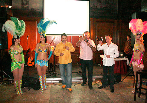 18. narodeniny spoločnosti NUBIUM vo veľkolepom kubánskom štýle. 29.4.2010 Bratislava.