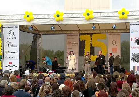 2. narodeniny OC Galéria TESCO Nitra. Tanečná skupina Strangers. 10.4.2010, Nitra.