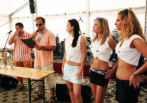4. ročník Nubium Raftin Cup 2006. Odovzdávanie ocenení víťazom.