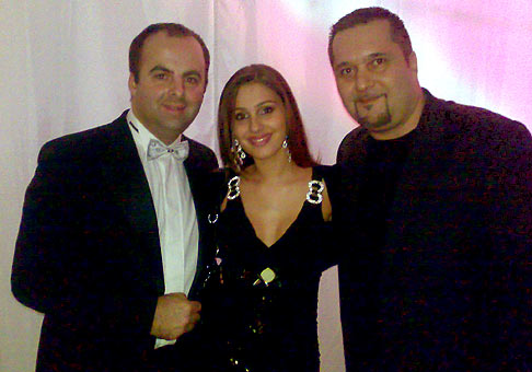 5. reprezentačný ples mesta Nové Zámky. S Anitou Soul a Marcelom Palonderom. Prvá cena v tombole bol Peugeot 107! Organizátor UP Promotion.
