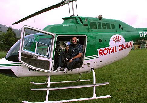Vrtulník Pharmacopola, na ktorom som sa viezol... ale už nikdy viacej :-).