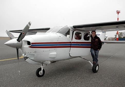 Stretnutie obchodných partnerov spoločnosti AquaTerm 2. - 4. Marec, 2007, Poprad. A lietali sme aj v lietadlách.