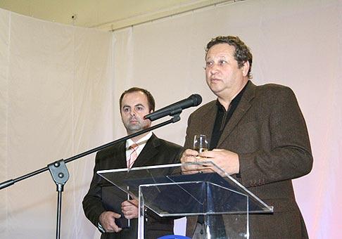 S generálnym riaditeľom Incheba Expo Bratislava Alexandrom Rozinom.