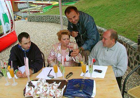 Porotcovia na Hubert Cupe 2004 dostali riadne zabrať, ale aj fúkať.