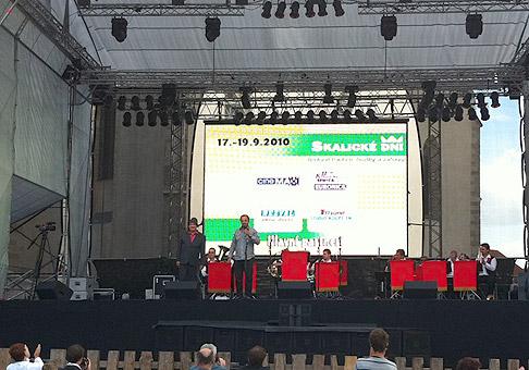 20 ročník Skalických dní navštívil aj Ander z Košíc. 18-19.9.2010 Skalica.