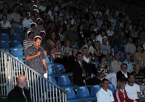 Na ročníku 2004 majstrovstiev slovenska Nokia v squashi bol plný Aupark v Bratislave.