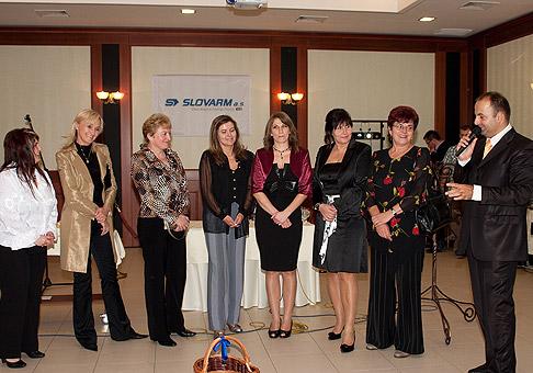 10. výročie spoločnosti Slovarm v hoteli Patriot v Skalici. 8.10.2010, Skalica.