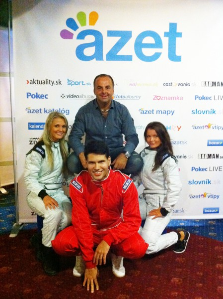 Azet number 1 party. Bratislava, 6.10.2011.