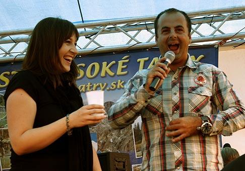 S Katkou Koščovou v Tatranskej Lomnici.