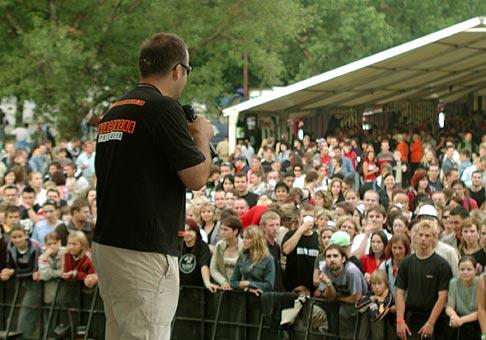 Topvar Rock Fest areál Ardea na Zelenej Vode 2-3.7.2004.