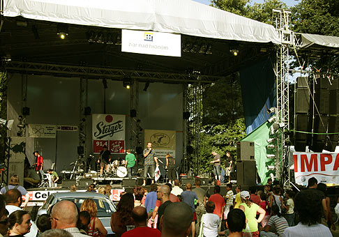 4. ročník mestského hudobného festivalu City Fest v Žiari nad Hronom. 15.8.2009.