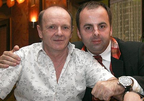 S pánom managerom Jožkom Šebom.
