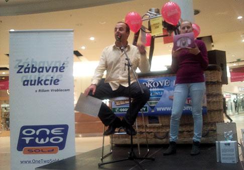 Zábavné live aukcie v Poluse. 3.decembra 2009 Bratislava.